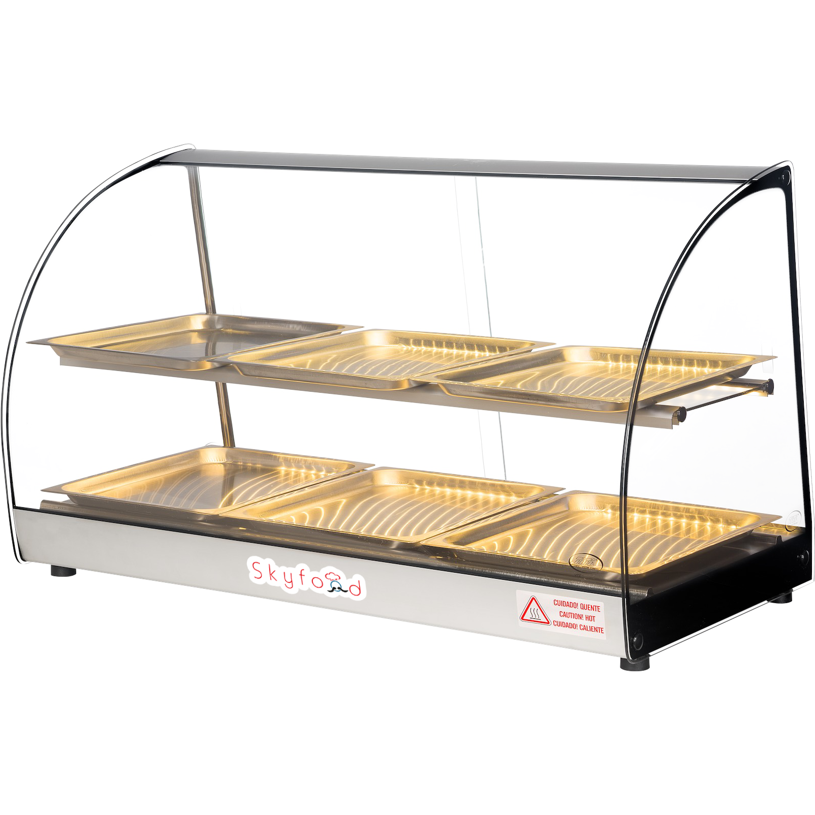 Commercial Countertop Food Warmer Display Case 33 Food Warmer