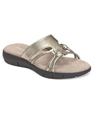 80ab4016cc14 Aerosoles Wip Away Slide Sandals - Comfort - Shoes - Macy s  50 ...