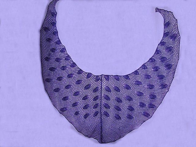 rain drops shawl pattern by Jhon Laserna | Pinterest | Gotas de ...