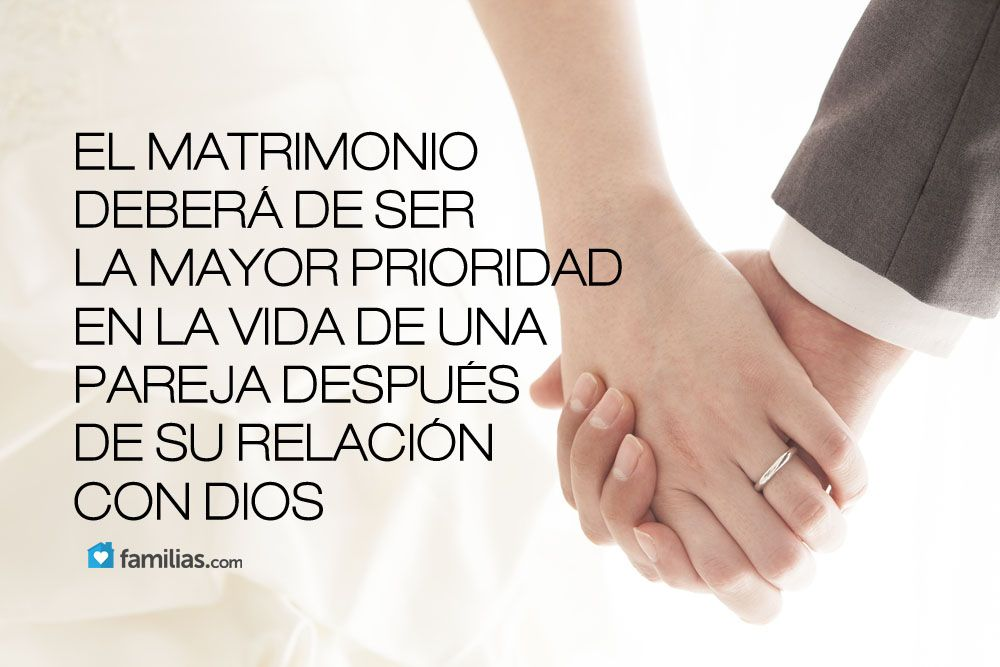 Familias Relacion Con Dios Palabras De Inspiración Matrimonio Dios