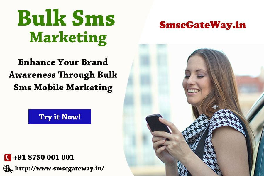 Bulk SMS Marketing engage your customer directly, at a
