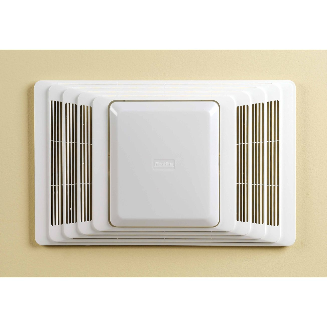 Broan 70cfm deluxe bathroom heater fan light 655 bath fans broan ventilation fanheat combination with lights ceiling 16 34 in d x 7 78 in h x 10 58 in65 bath fans heaters aloadofball