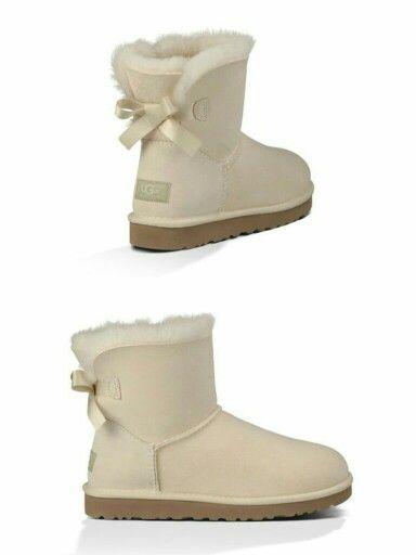 f9504a082c3 Ugg Australia mini bailey bow sand | Shoes! | Uggs, Ugg classic mini ...