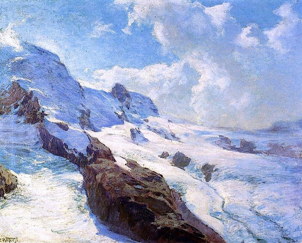In Cloud Regions  Edward Potthast- circa 1906