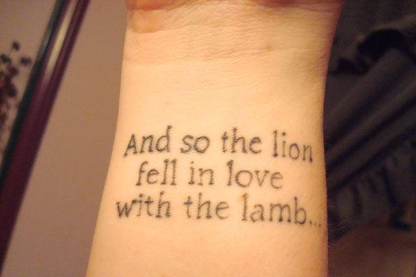 I like this typography for psalm 23 ambition tattoo 40 awe for Latin scripture tattoos