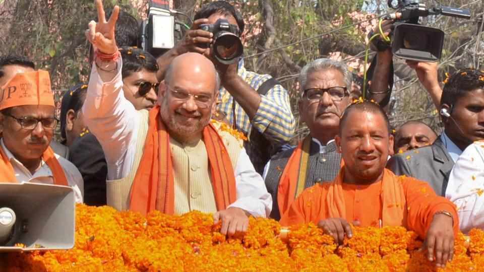 The BJP would get two-thirds majority and storm to power in Uttar Pradesh, party chief Amit Shah said on Friday, the eve of the sixth and the second-last phase of voting in the...