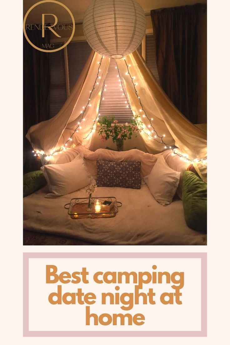 Best Camping Date Night at Home