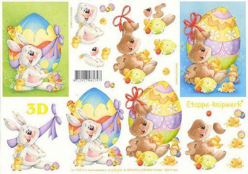 Rabbits 3d