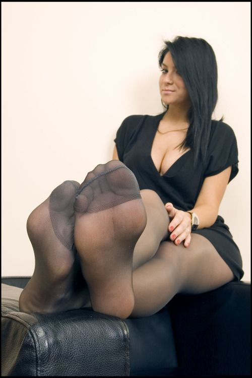 Foot In Nylons Sexy Womens 114