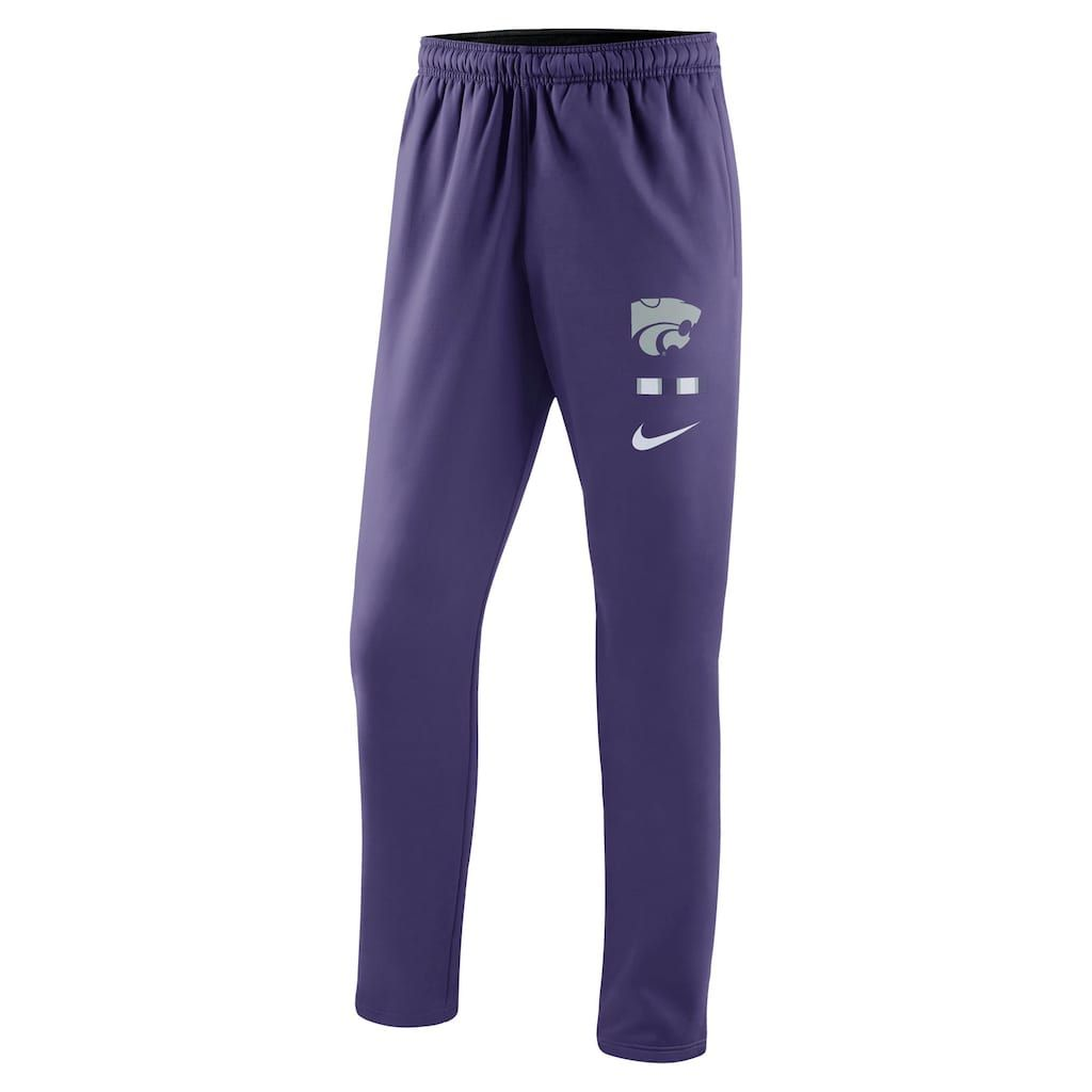 best authentic 88fbb eb169 Men s Nike Kansas State Wildcats Therma-FIT Pants, Size  XL, Purple