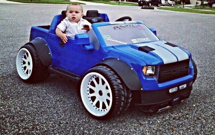 Modified Raptor Powerwheels Kids Power Wheels Power Wheels