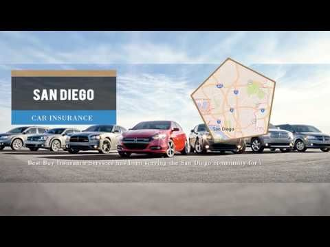 Get Low Cost Car Insurance In San Diego Ca From Best Buy Insurance