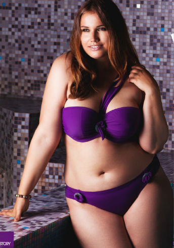 tall Plus Size models   plus size swimwear 1 French fashion ...