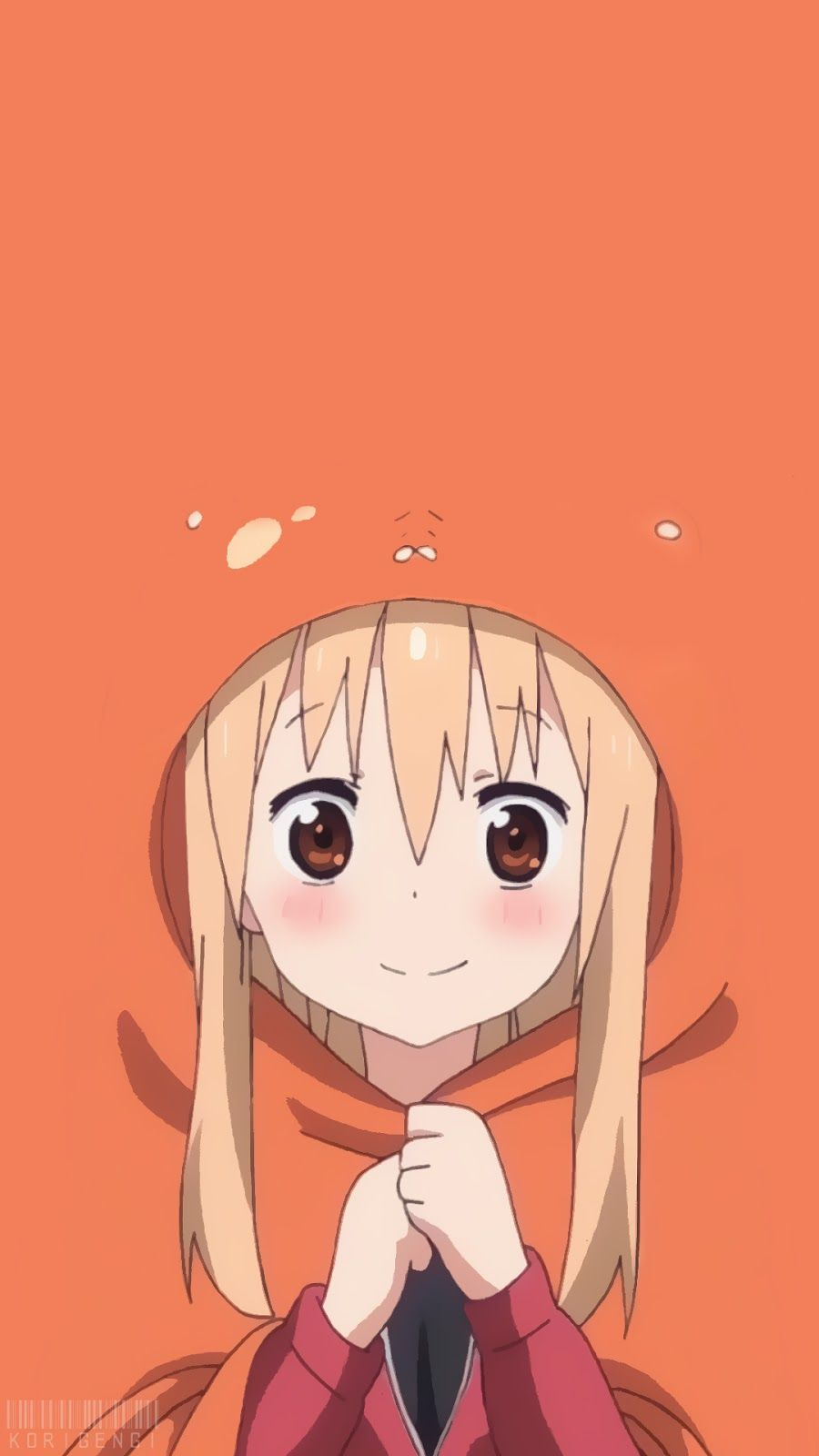 Umaru Doma V Beautiful Anime Girl Yandere Himouto Umaru Chan Anime Lock Screen