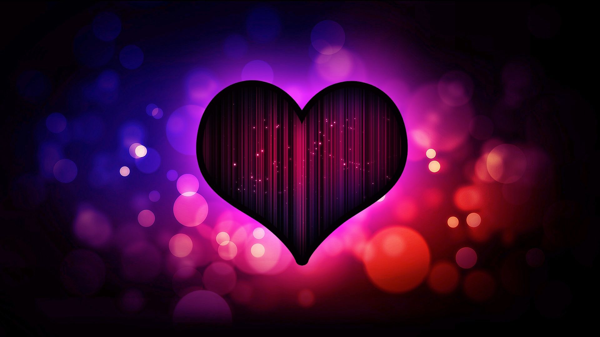 Hd Wallpaper Of Love Heart