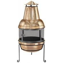 Kay Home Products Copper Chimenea Fireplace Backyard Fun