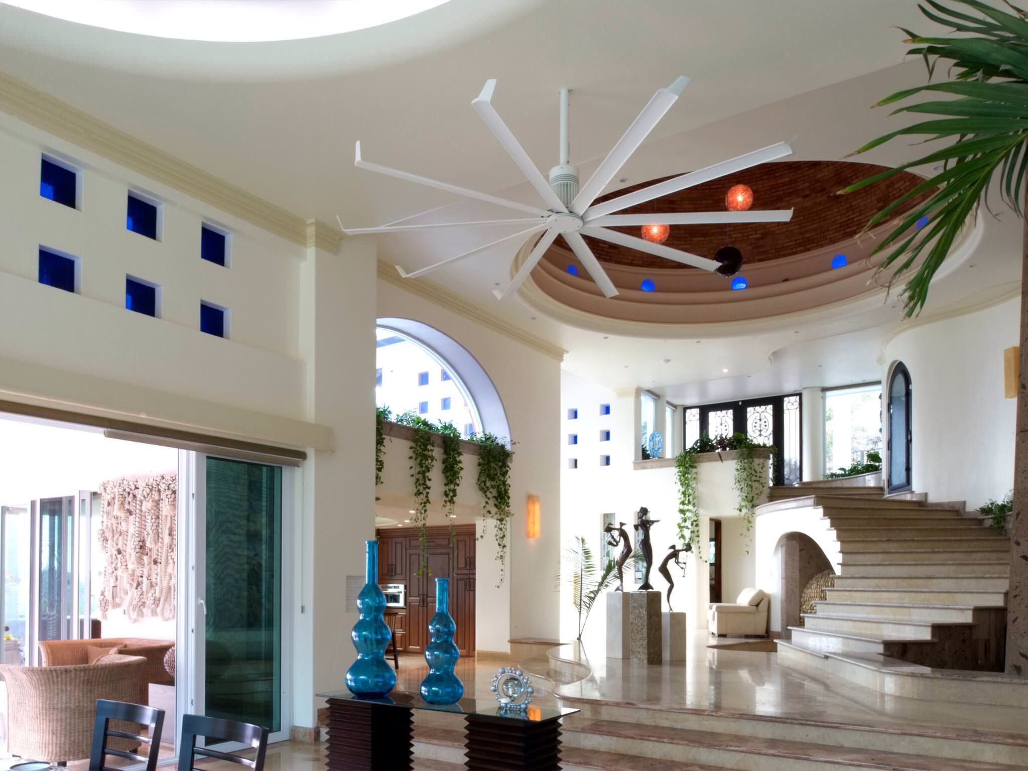 Ceiling fan Bigass fans HVAC Systems and Equipments