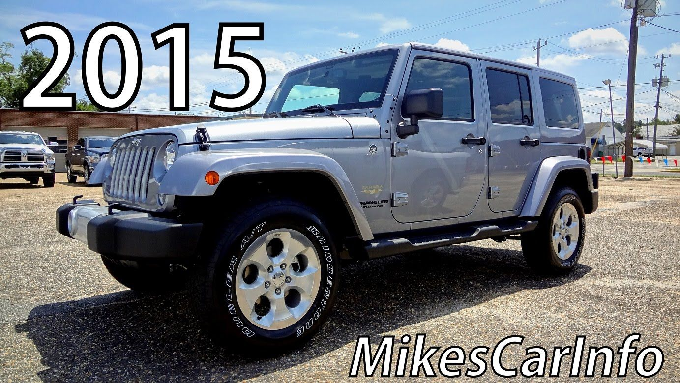 2015 Jeep Wrangler Unlimited Sahara 4581 Jeep Wrangler Unlimited