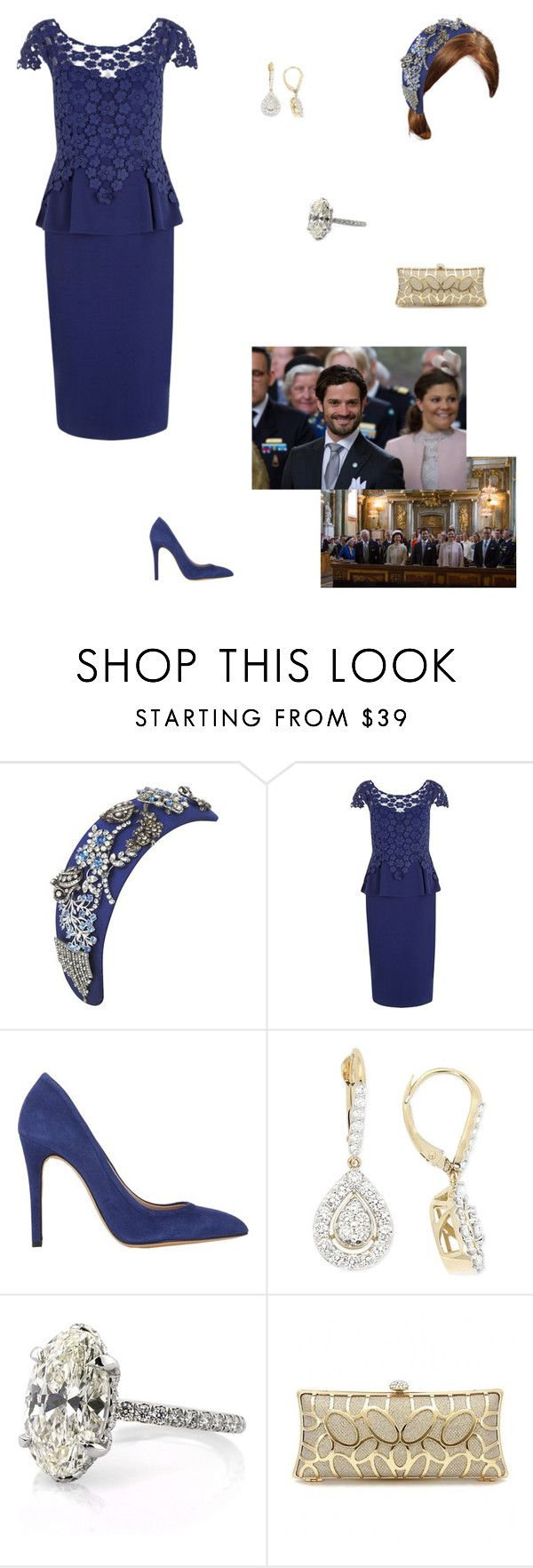 """Attending the Te Deum of Prince Alexander"" by kleinnicole ❤ liked on Polyvore featuring Alexon and IRO"