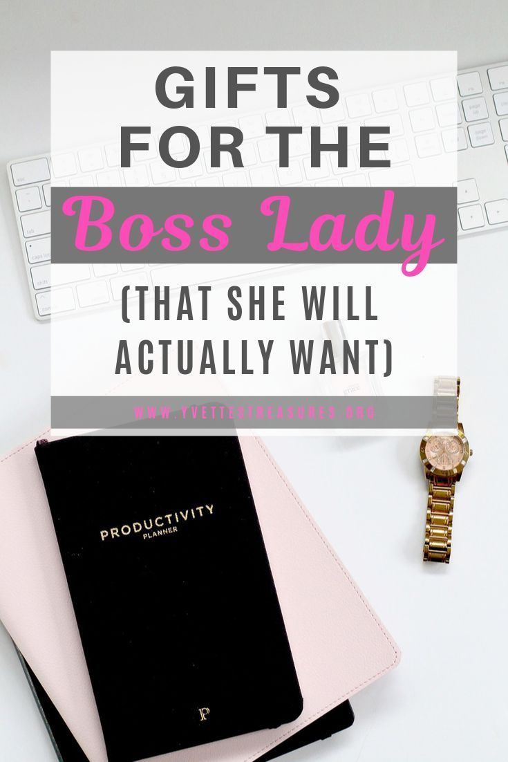 A great list of gifts for the boss lady gifts she will
