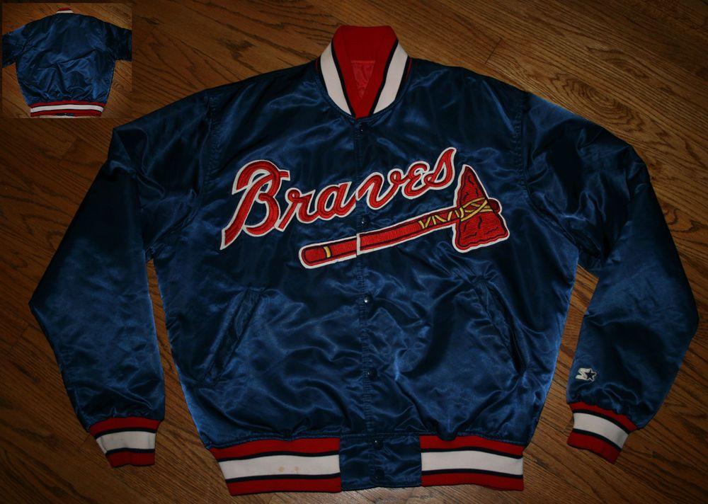 Nike Men's Atlanta Braves MLB Jackets | eBay
