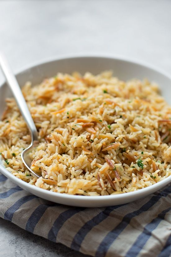 perfect rice pilaf cat s side dishes pinterest rice rice
