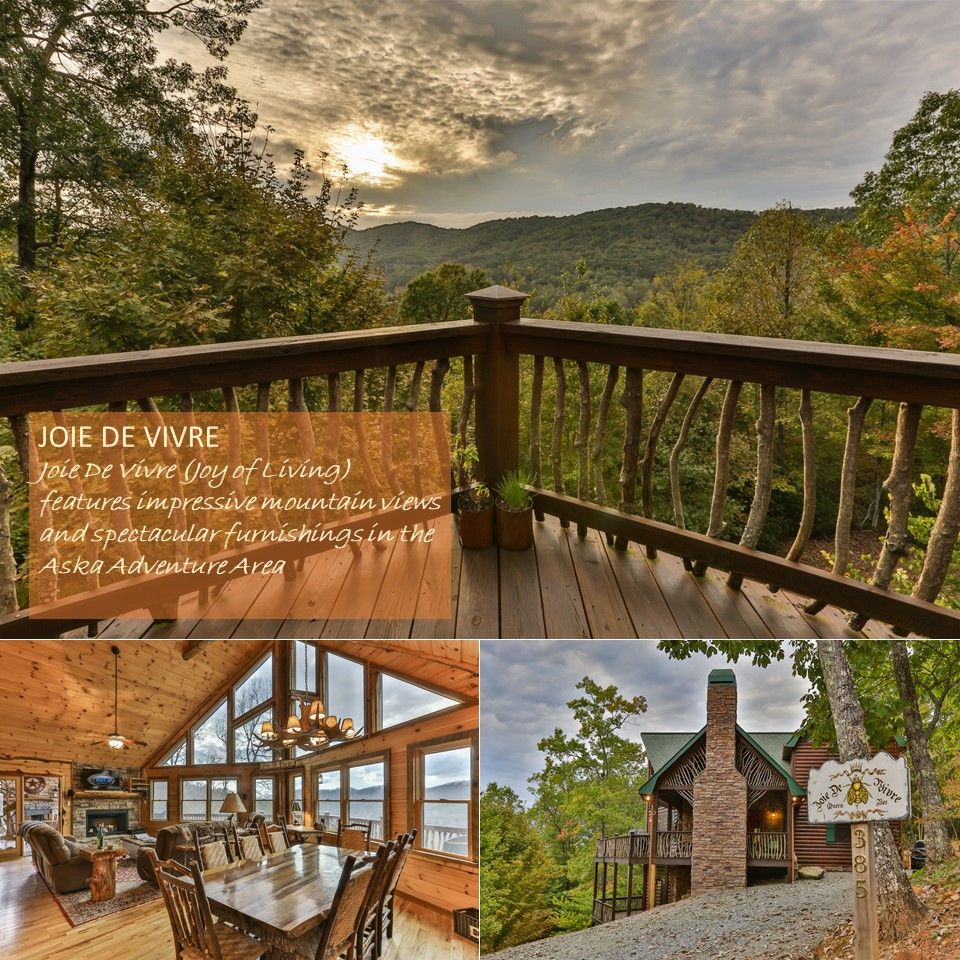 CABIN SPOTLIGHT Joie De Vivre (Joy Of Living), Located In