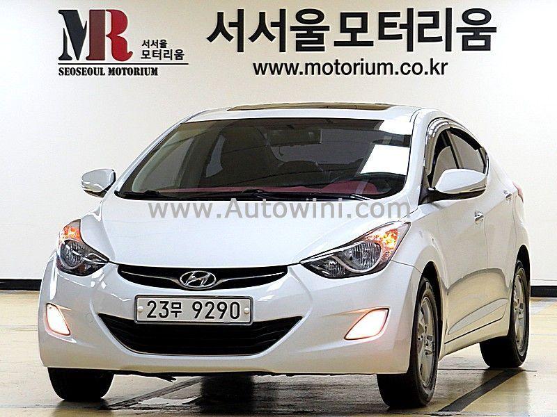 2012 Hyundai Avante Md M16 Gdi Luxury 23무9290 With Images