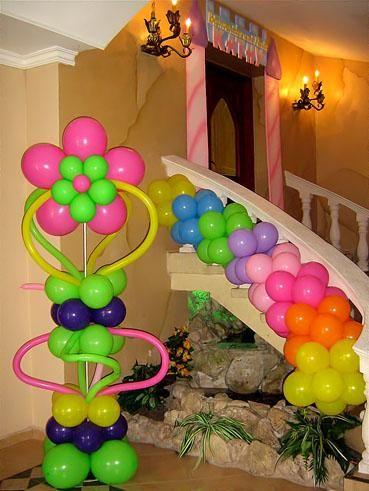 Decoración para fiestas globos Pinterest Decoraciones para