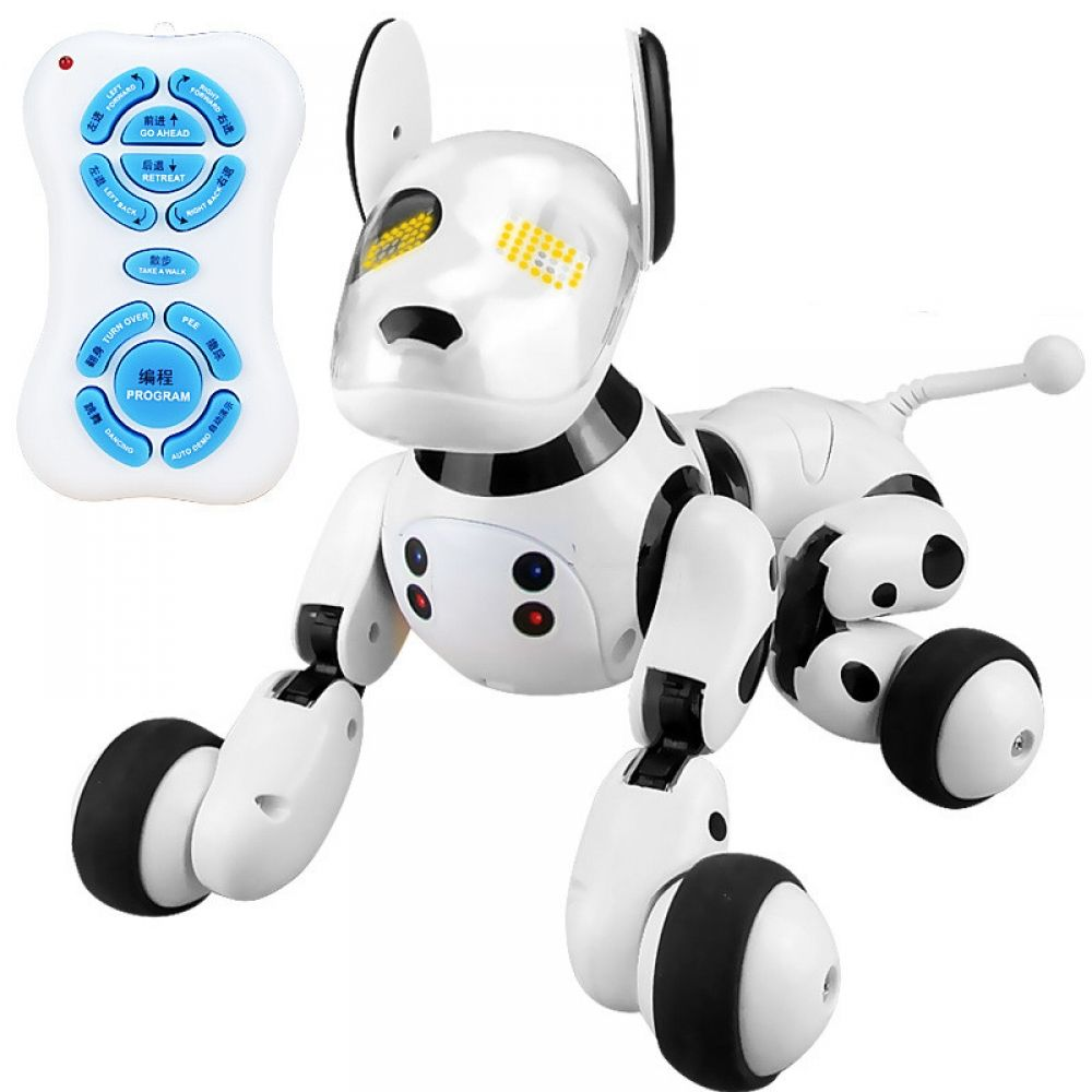 Interactive Robot Dog With Remote Control Feature