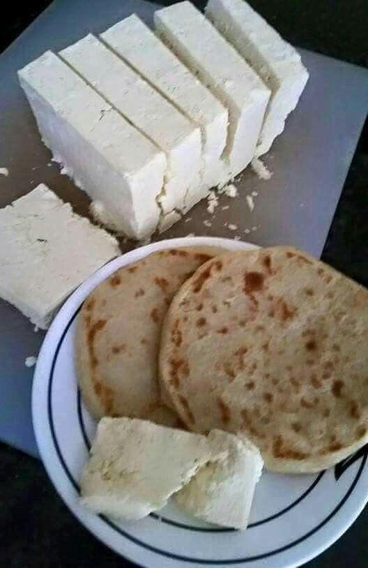 Tortillas Con Queso Meriendas Tortas Salvadoreños