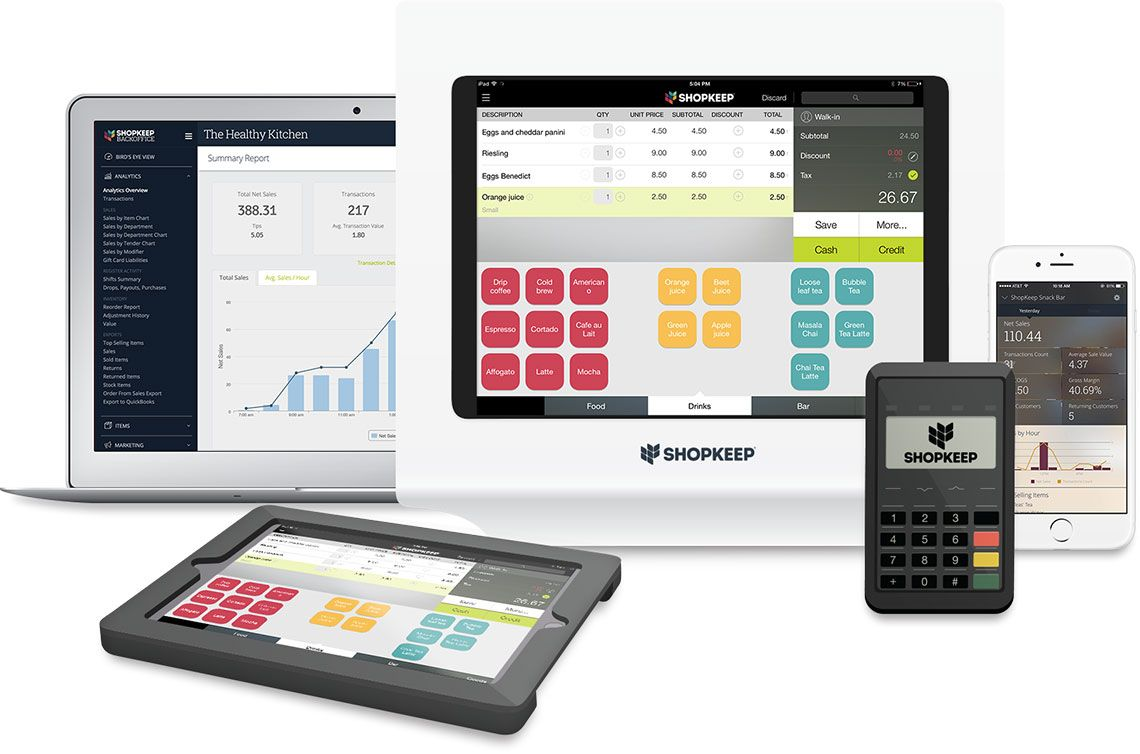 Ipad Pos Point Of Sale System Free Trial Shopkeep