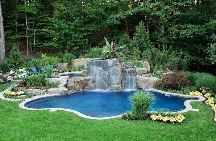 Traumhaus mit pool und garten  Bildergebnis für natürlicher pool | Garten | Pinterest | Teiche ...
