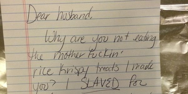 Hilarious Love Letters Between Husband And Wife Show Exactly What