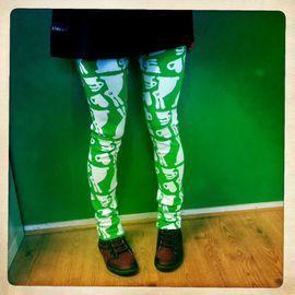 Kimperi - Aikuisten PupuLove Legginsit (vihreä)