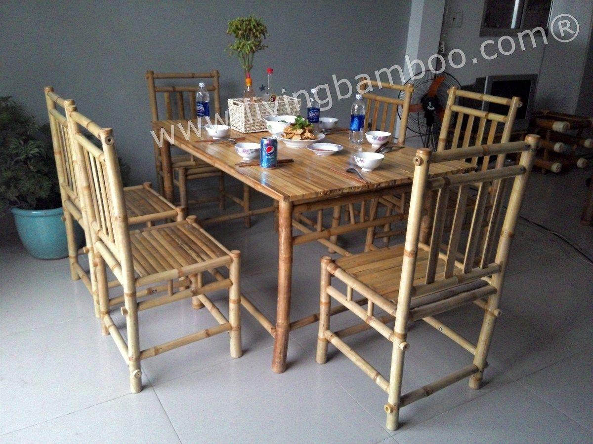 Bamboo Dining Table Chairs | http://enricbataller.net | Pinterest ...