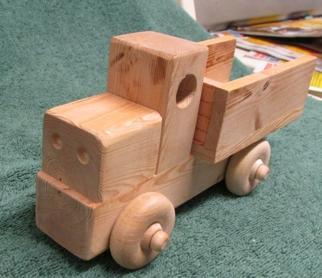 Simple Wood Toy Truck Bandsaw Projects Toys