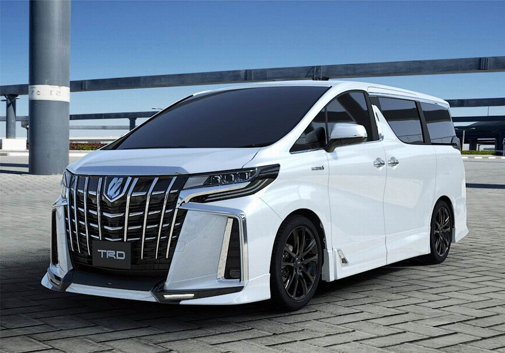 Updated Toyota Alphard And Vellfire Got A Body Kit From Trd