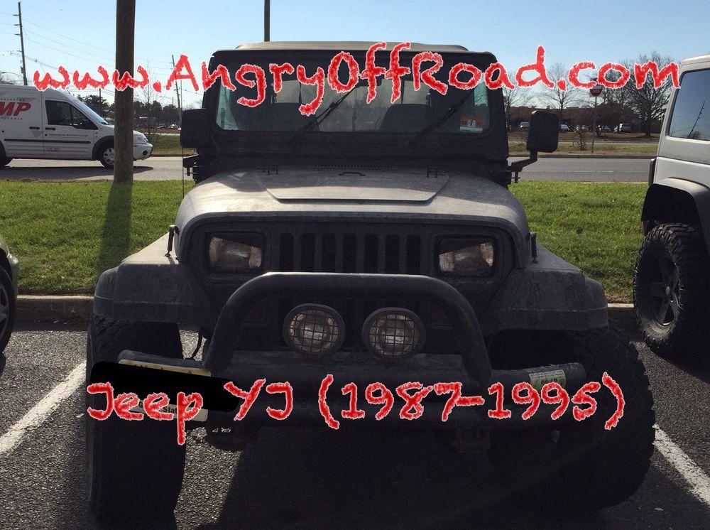 Angryoffroad Jeep Wrangler Yj Cherokee Xj Angry Eyes Headlight Trim Angryoffroad Jeep Wrangler Yj Jeep Wrangler Jeep