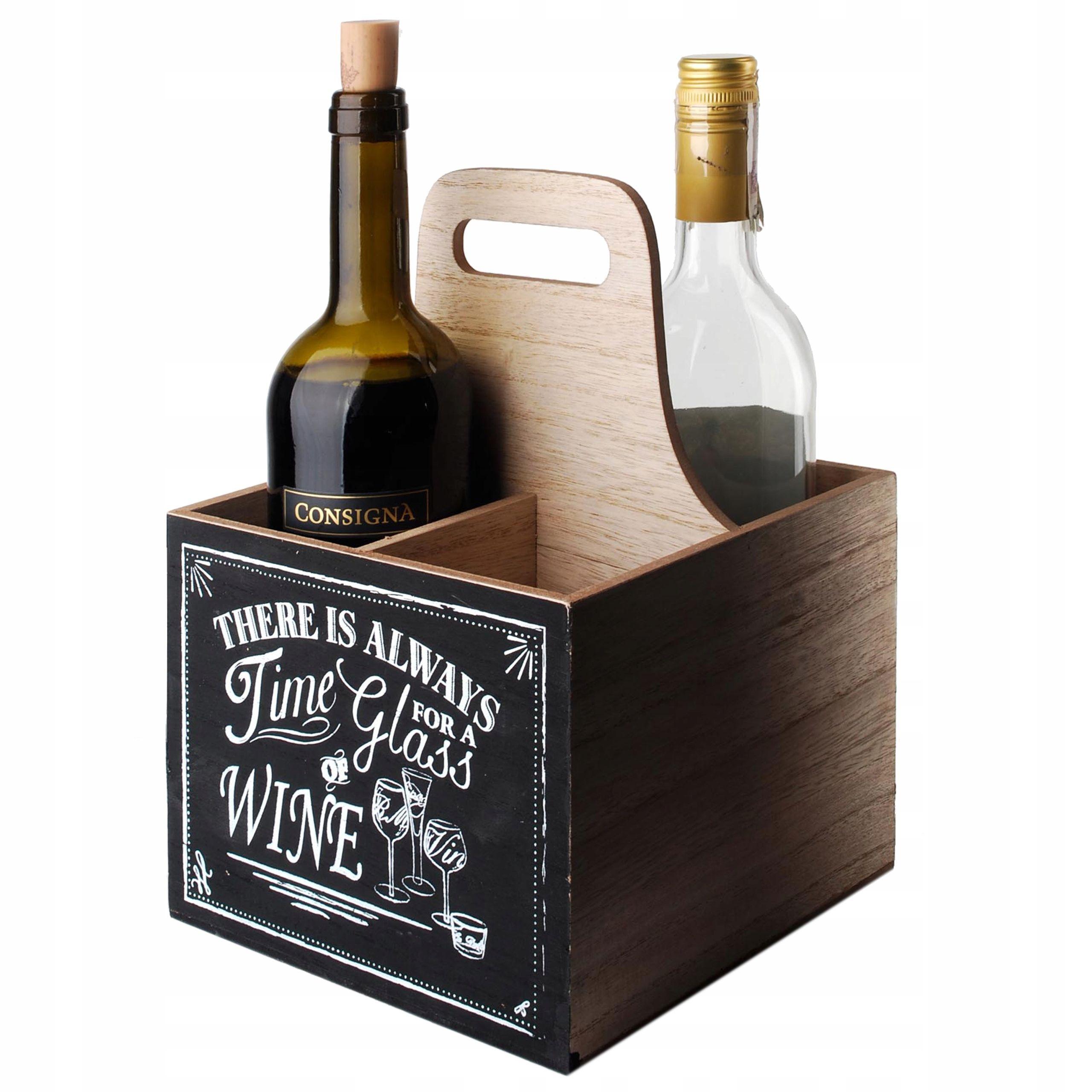 Stojak Na Wino Skrzynia Butelki Alkohol Prezent In 2020 Stojak Na Wino Alkohol Wino