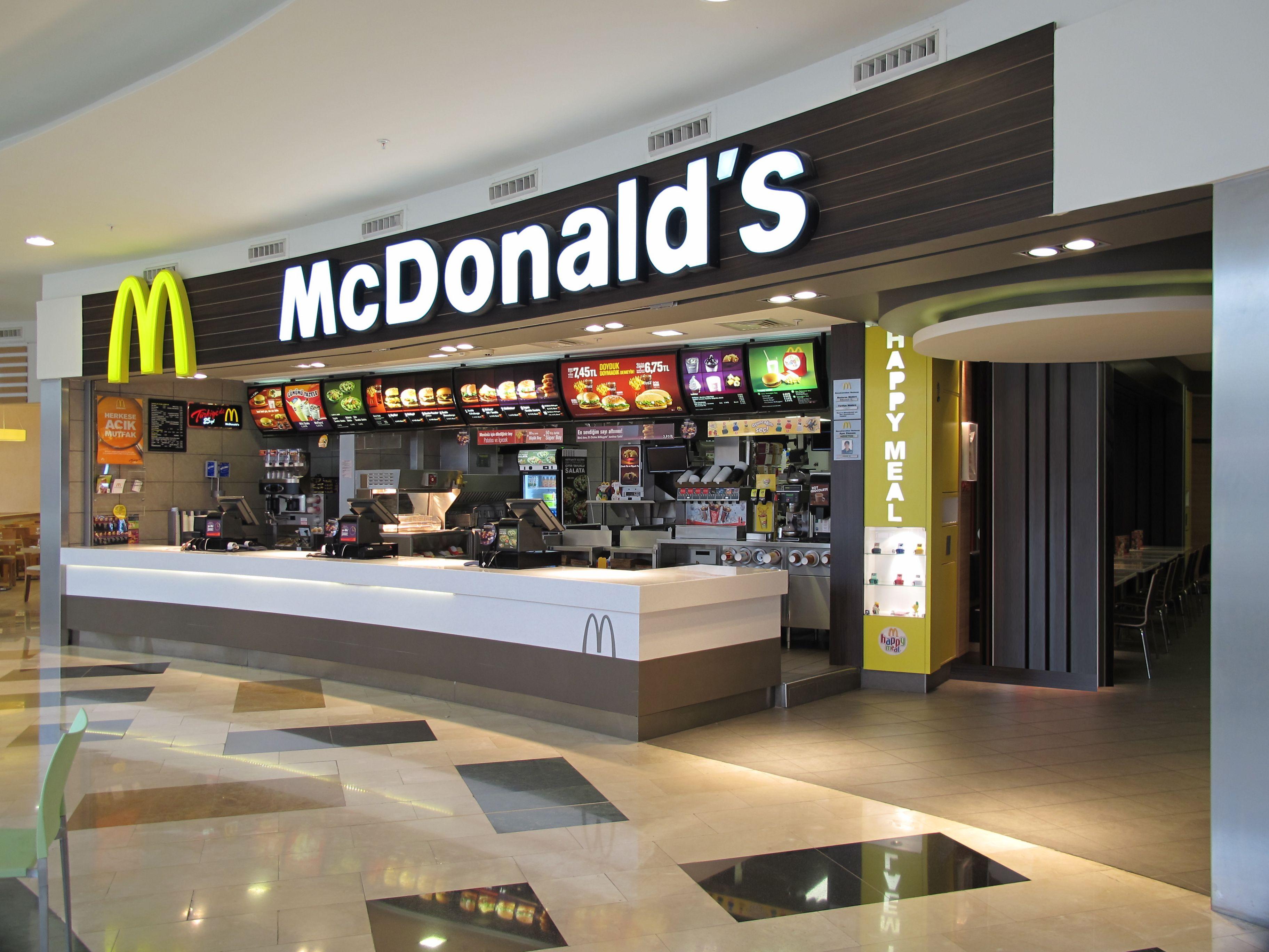 McDonald's Bursa Snap food, Fast food restaurant