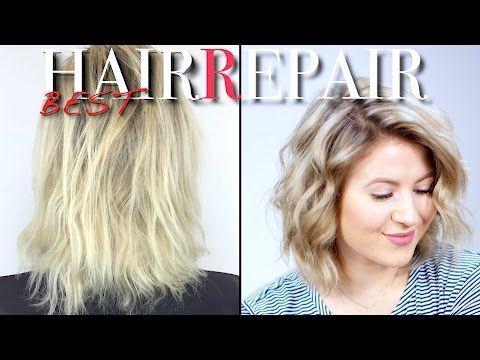 482 How To Repair Dry Damaged Hair Milabu Youtube Dry