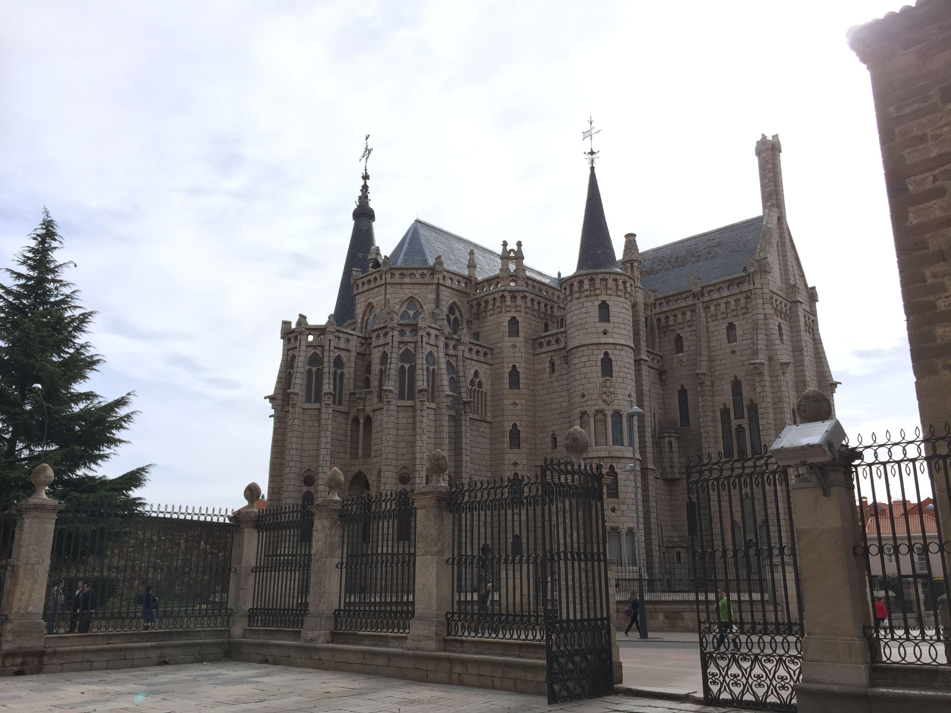 Coqueto palacio del obispo de Astorga