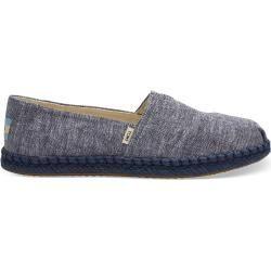 Toms Schuhe Dunkelblau Chambray Espadrilles Für Damen  Größe 39 TomsToms
