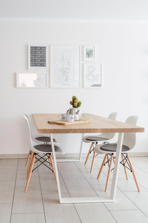 Hochwertig Esstisch Eiche Massivholz Nach Maß Esszimmer Klassisch Modern Design