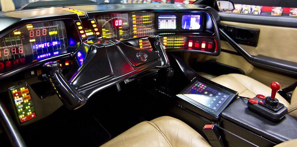 KITT - Knight Rider dashboard | Automobile Awesomeness