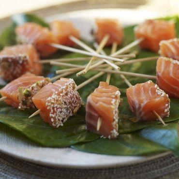 salmon tapas ideas