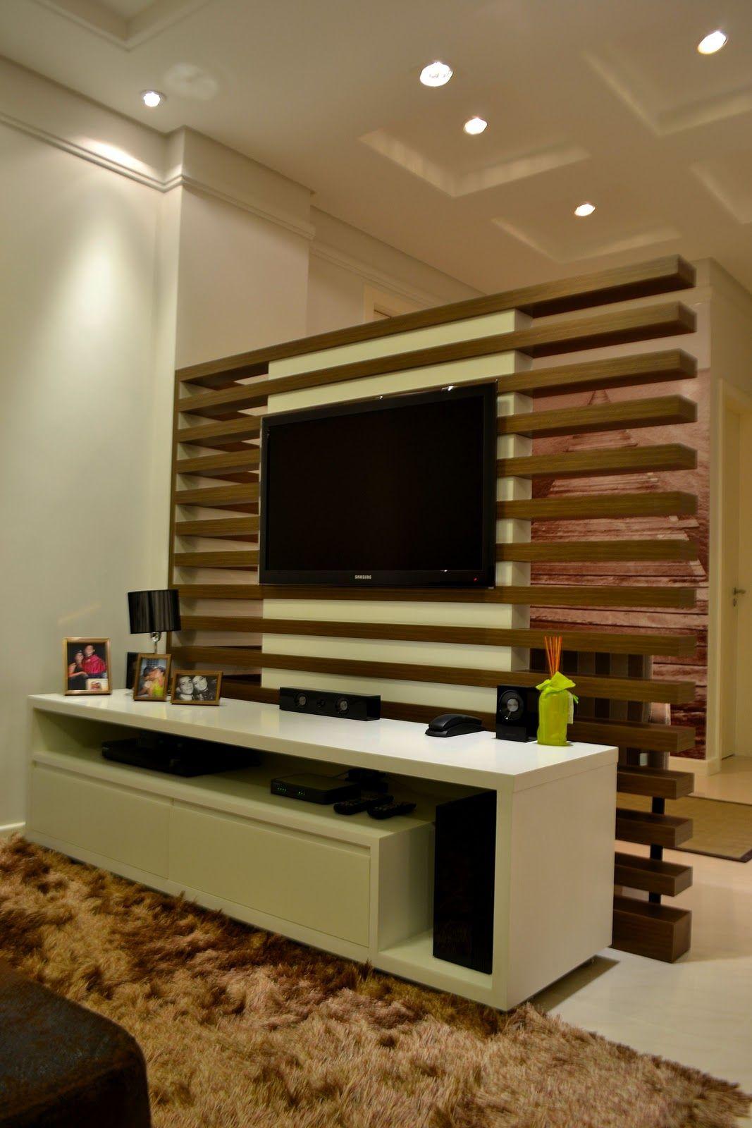 Painel Tv Sala Pesquisa Google Id Ias Home Theater Pinterest  # Meuble Tv Yucca