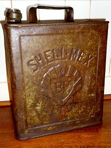 Vintage Shellmex Oil Can