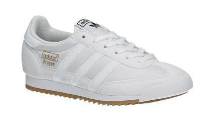 Adidas DRAGON OG witte lage sneakers   Sneaker, Adidas ...